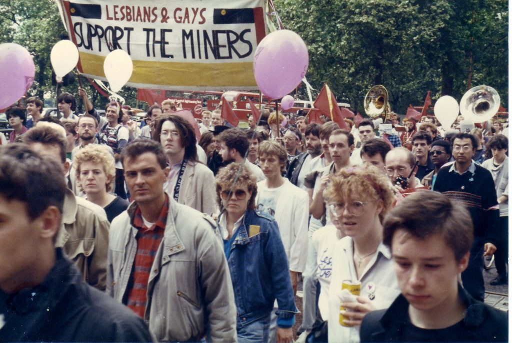 Gay Lesbian Support Miners